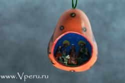 """ёлочные украшения, рождественская игрушка """"Ёлка"""""""