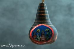 """ёлочные украшения, рождественская игрушка """"Звезда"""""""