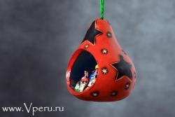 """ёлочные украшения, рождественская игрушка """"Звезды"""""""