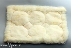 меховой коврик из Альпака, с рисунком