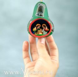 """ёлочные украшения, рождественская игрушка """"Колокольчик"""""""