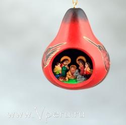"""ёлочные украшения, рождественская игрушка """"Колибри"""""""