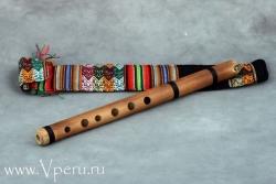 Кена - продольная тростниковая флейта