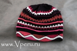 Стильная перуанская шапка