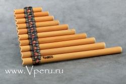 Антара (antara) - однорядная многоствольная тростниковая флейта